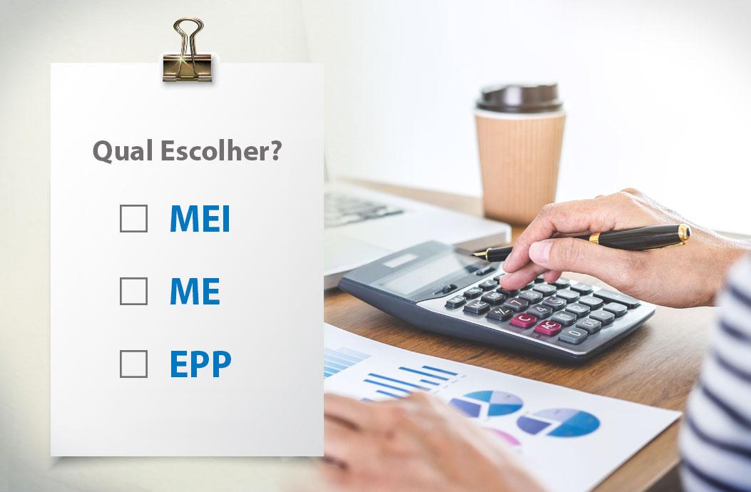 Microempresa, ME ou EPP